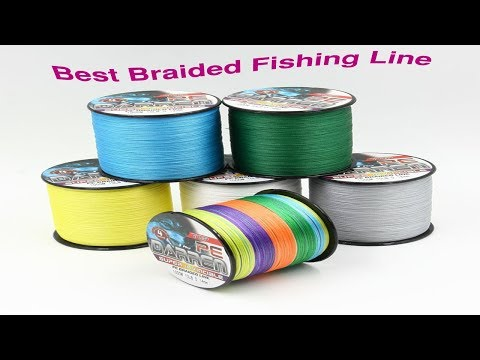 Top 5 best braided fishing line reviews,2017