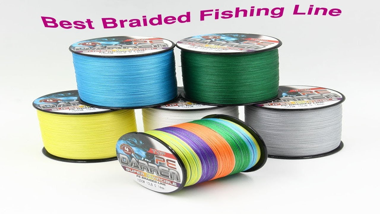 top 5 best braided fishing line reviews 2017 youtube