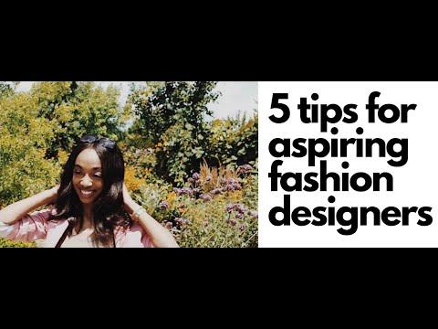 5 Tips for Aspiring Designers