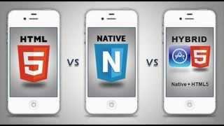 4. PDM - Aplicaciones Nativas vs Híbridas vs HTML5