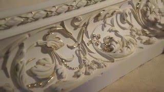 Процесс декорирования лепнины. Decorative moulding in progress. Oldiss_decor(, 2016-02-01T00:34:47.000Z)