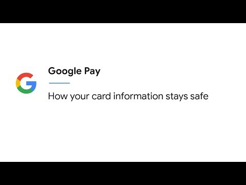 How your info stays safe with Google Pay