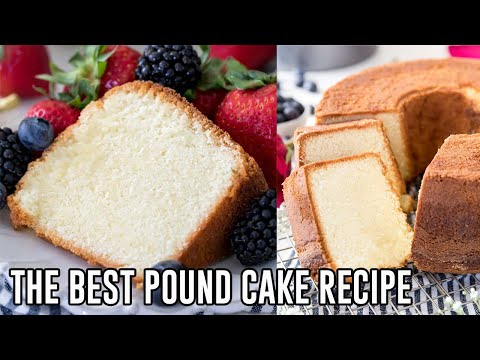 The Best Pound Cake Recipe!
