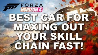 Best car for maxing out your skill chain fast!!