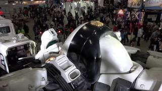 4kビデオの編集が出来ないのでAVCHDでも撮影してみました。AnimeJapan2014にて展示された『THE NEXT GENERATION パトレイバー』に登場する撮影用実寸大 ...