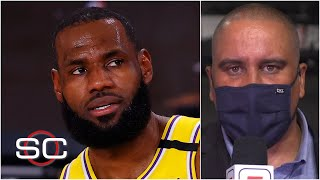 Reacting to LeBron James expressing disappointment about second-place MVP finish | SportsCenter