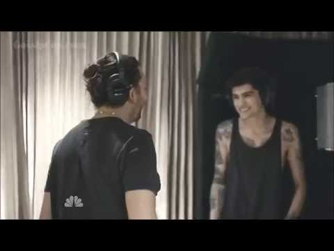 Recording the album four/Niall in his underwear - One Direction TV Special [HD]