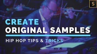 How To Create & Mix Your Own Lo-Fi or Hip Hop Samples | G-Koop & Frank Dukes Inspired