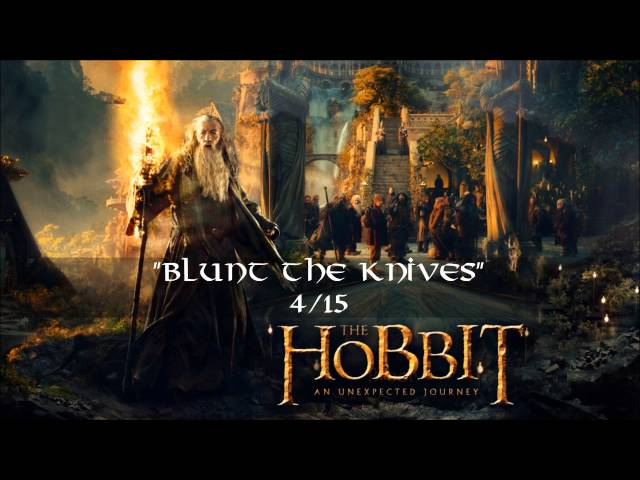 04. Blunt the Knives (Exclusive Bonus Track) 1.CD - The Hobbit: an Unexpected Journey