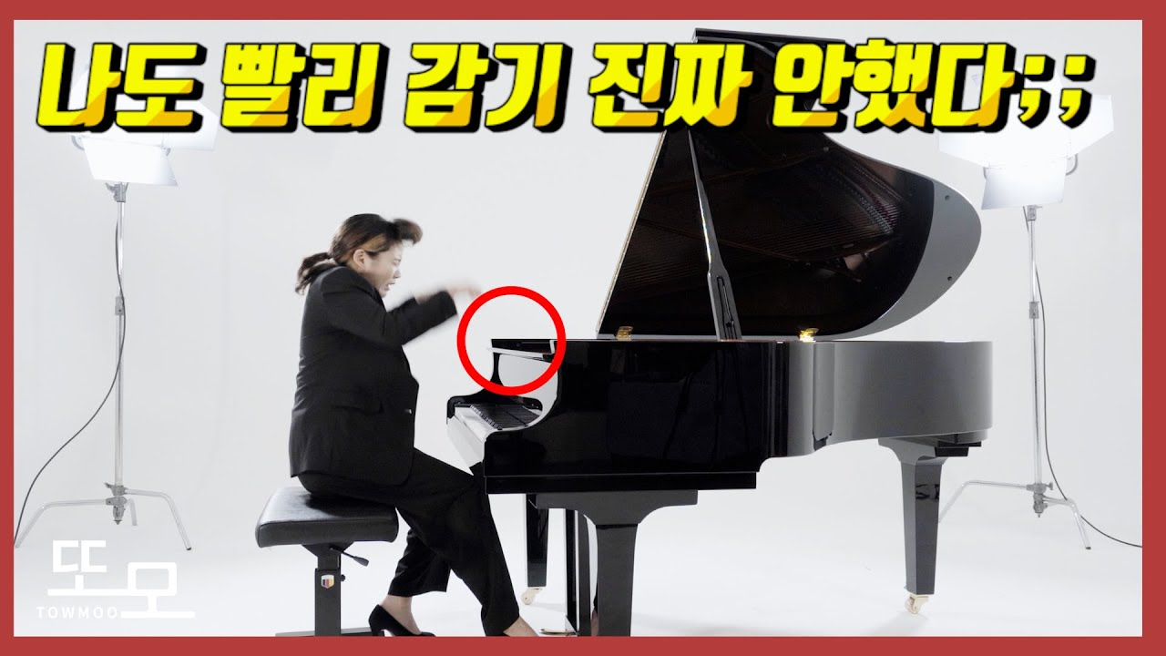 한예종 졸업하려면 이 정도는 쳐야합니다/ 빨리감기 안했다;;  베토벤 열정 3악장MV (feat. 걸륜언니)
