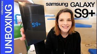 Samsung Galaxy S9+ -unboxing primer contacto q t dejarán HELADO- ❄ ⛄ thumbnail