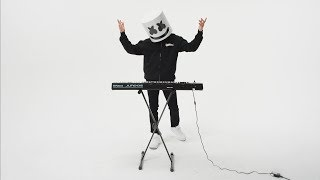 How To Play Proud by Marshmello on the Synth Keyboard piano tutorial