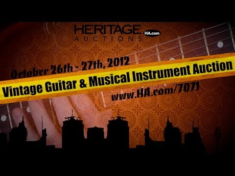 Heritage Auctions (HA.com) -- 2012 October Vintage Guitars & Musical Instruments Auction