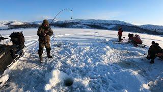 ЗИМНЯЯ МОРСКАЯ РЫБАЛКА. Рыбу увозили мешками / COOL WINTER SEA FISHING