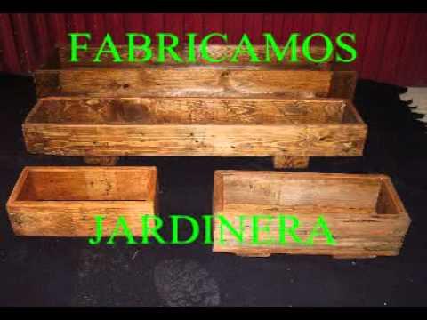 Muebles hechos con madera de youtube - Muebles de jardin hechos con palets ...