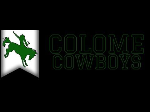 Corsica/Stickney Jaguars vs. Colome Cowboys