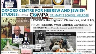 Leveson Duke of Sutherland linkage, Borders Council Donkeys & the MONTEFIORE Sebag Gossip