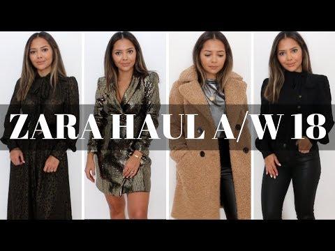 Zara Haul   Autumn, Winter, Holiday New In 2018