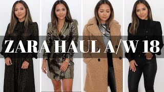 Zara Haul | Autumn, Winter, Holiday New In 2018
