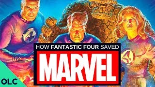 How the FANTASTIC FOUR Saved Marvel Comics (Part 1)