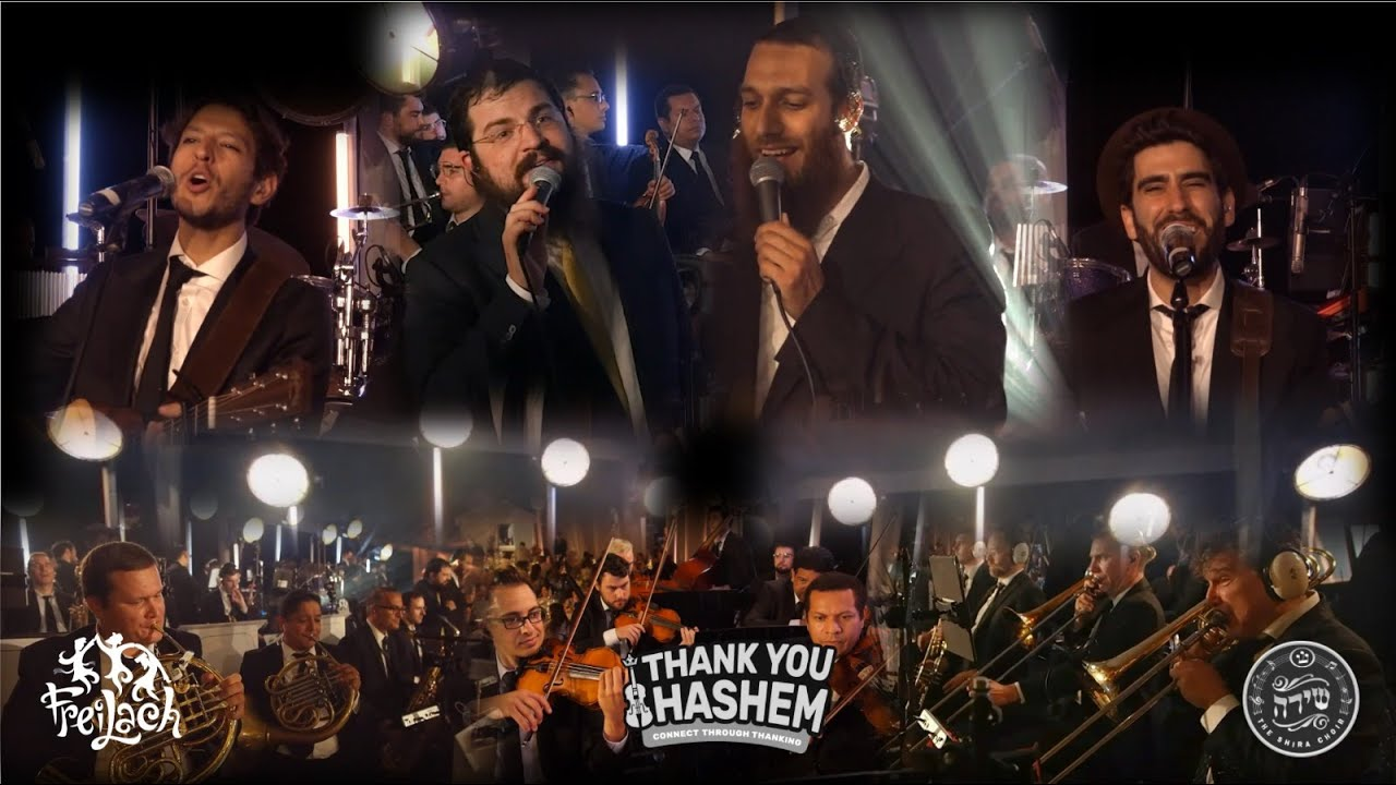 Thank You Hashem Medley – Freilach Band ft. Benny Friedman, Beri Weber, Pumpidisa & The Shira Ch