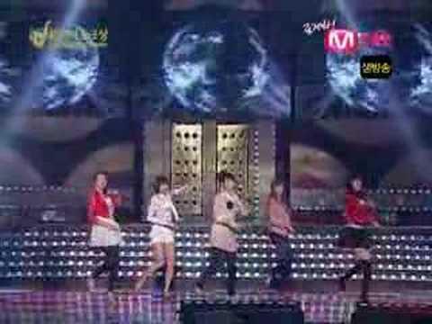 Wonder Girls- Tell Me at 2007 Golden Disk Awards