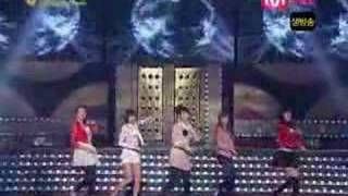 Wonder Girls- Tell Me at 2007 Golden Disk Awards