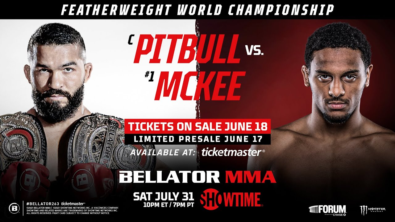 Bellator 263: Pitbull vs. McKee - Reddit MMA Streams Live, How to Watch Online, Time, Fight Card