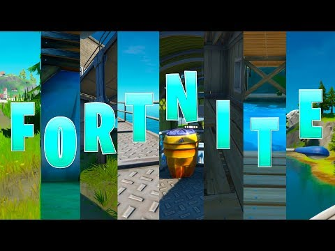 ALL F-O-R-T-N-I-T-E Letters Locations In Fortnite Chapter 2 (All Hidden Letter Locations)