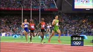 Hicham El Guerrouj at the 2004 Olympic Games