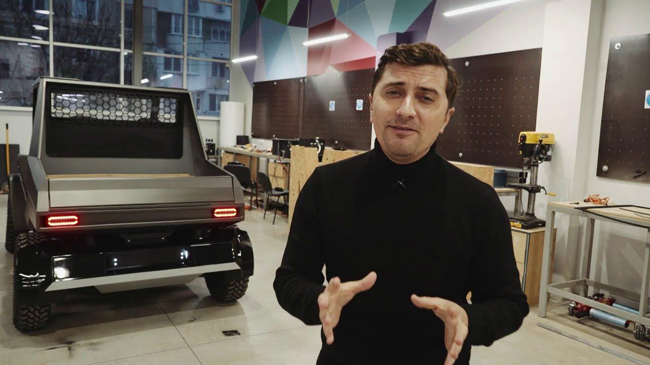Prima masina elecrica produsa in Moldova, i-ar face invidiosi  chiar si pe cei de la Tesla.