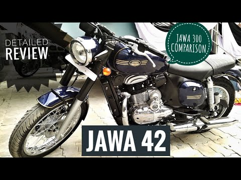JAWA 42 AND JAWA 300| COMPARISON WITH COMPLETE REVIEW | PRICE DETAILS |EXHAUST SOUND |SPECIFICATIONS