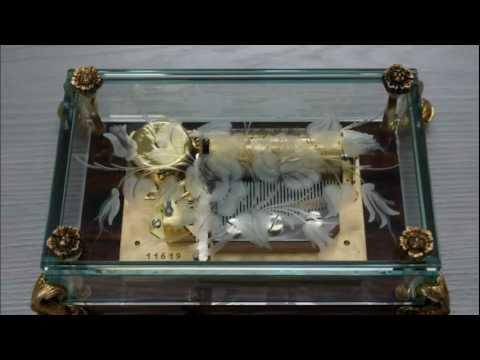 Reuge 36 note music box リュージュ36弁3曲オルゴール Barcarolle Serenade