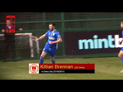 Goal: Killian Brennan (vs Derry City 27/10/2017)