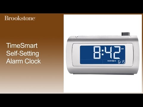 TimeSmart Self-Setting Alarm Clock Complete How to Video