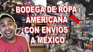 BODEGA DE ROPA AMERICANA por LIBRA REVENDER, Pacas de Ropa de Marca con envio a Mexico