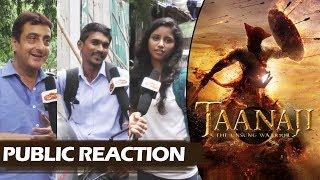 Ajay Devgn's TAANAJI First Look - PUBLIC REACTION - Ajay Devgn KILLS With His Eyes