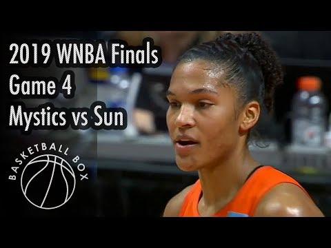 [WNBA Finals Game4] Washington Mystics vs Connecticut Sun, Full Game Highlights, October 8, 2019