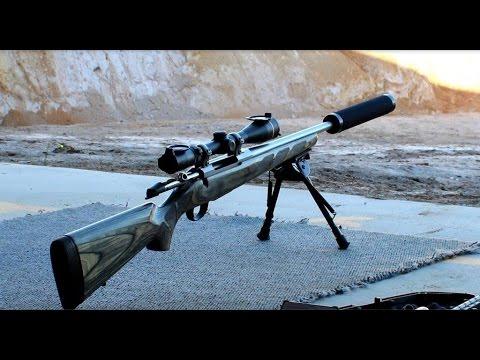 7mm08 Suppressor Test