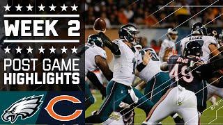 Eagles vs. Bears | NFL Week 2 Game Highlights