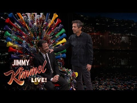 Ray Romano Surprises Jimmy Kimmel on His 50th Birthday