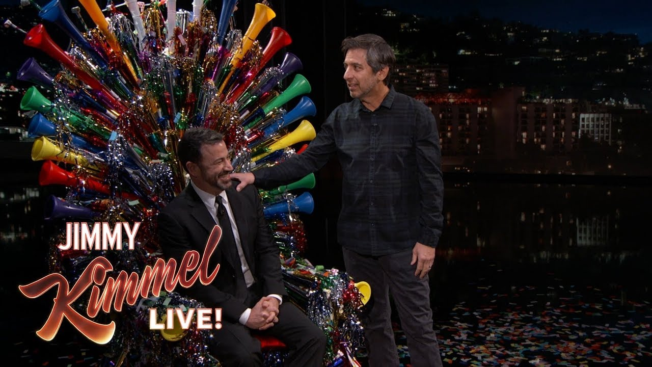 Ray Romano Surprises Jimmy Kimmel On His 50th Birthday Youtube