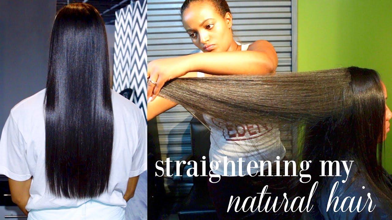 R Style Hair Studio: How I Straighten My Natural Hair