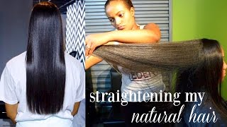 how i straighten my natural hair natural hair salon experience styles by eden
