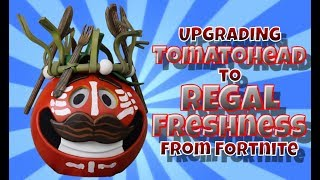 Upgrading Tomatohead to Regal Freshness from Fortnite