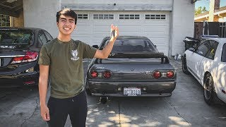 Giving my Little Brother the R32 GTR!