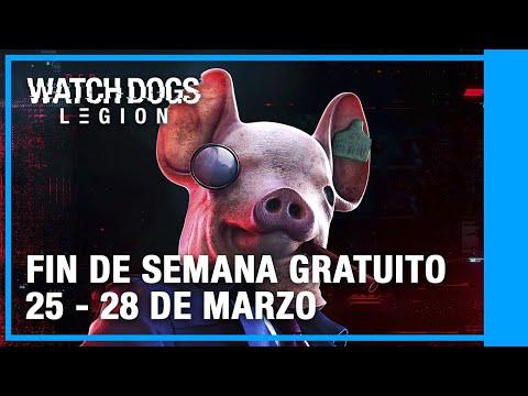 Watch Dogs Legion - Fin de Semana Gratis   25 - 28 de Marzo   Ubisoft LATAM