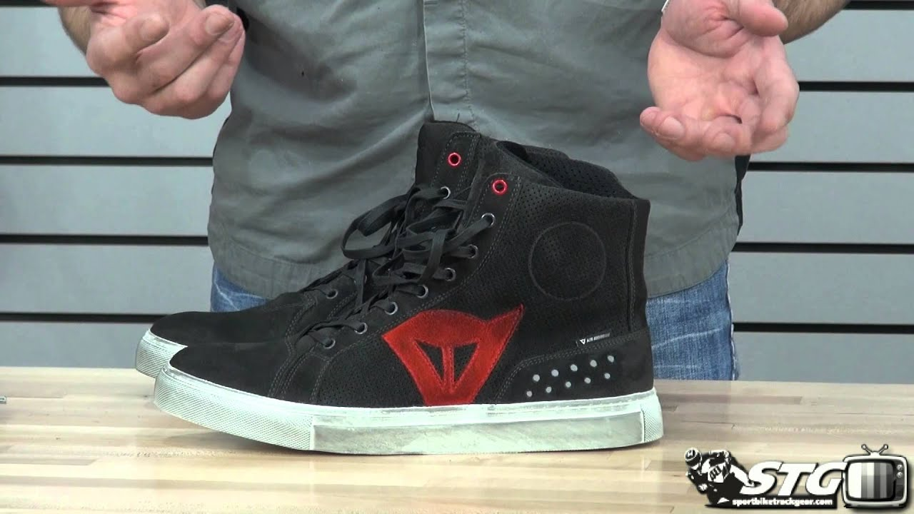 dainese street biker air riding shoe review from. Black Bedroom Furniture Sets. Home Design Ideas