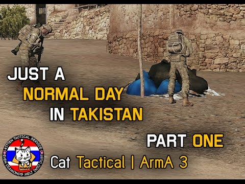 [Jono Casting] Just a normal day in Takistan 1/3 | CatTac ArmA 3