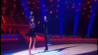 Dancing On Ice 2010 - Danniella Westbrook and Matthew Gonzalez - Week 3